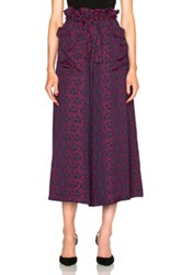 Rodebjer Idesha Pants In Red Floral Red Floral