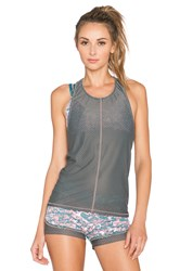 Maaji Juicy Dawning Daisies Tank Top Blue