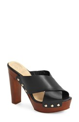 Vince Camuto Women's 'Elora' Mule Black Leather