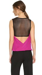 Kaufman Franco Sleeveless Top Hot Pink