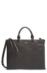 Lanvin Quilted Lambskin Leather Satchel