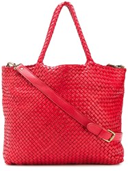 Officine Creative Class Tote Red
