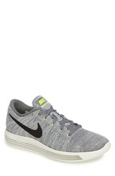 Nike Men's 'Lunarepic Low Flyknit' Running Shoe Cool Grey Black Grey White
