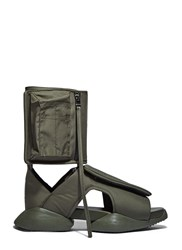 Rick Owens X Adidas Velcro Strap Ro Cargo Sandals Green