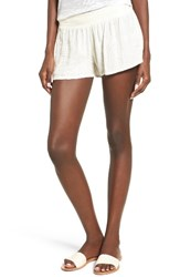 O'neill Women's Orion Gauze Shorts Winter White