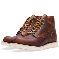 Red Wing Shoes Red Wing 9111 Heritage 6' Round Toe Boot Copper Rough And Tough