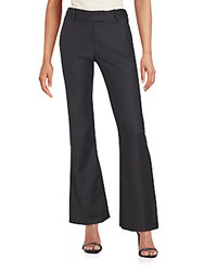 L'agence Solid Bell Bottom Pants Black