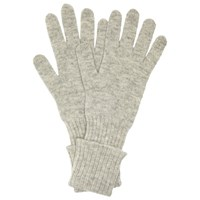 John Lewis Cashmere Long Gloves Grey