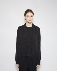 The Row Caro Cashmere Cardigan Shadow