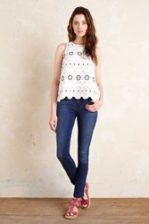 Level 99 Lily Cropped Jeans Light Denim