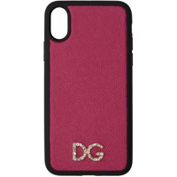 Dolce And Gabbana Pink Crystal Iphone X Case
