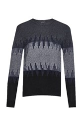 French Connection Men's Soundwave Knits Jumper Grey