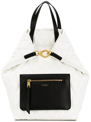 Givenchy Duo Backpack White