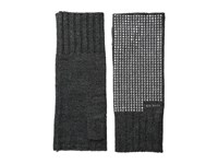 Michael Michael Kors Heat Seal Studded Armwarmer Derby Polished Nickel Extreme Cold Weather Gloves Black