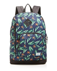 Toms Birds Of Paradise Backpack Navy