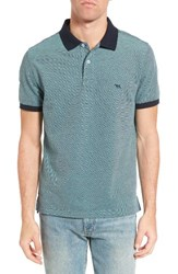 Rodd And Gunn Men's Northland Pique Polo Ocean
