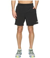 New Balance Woven 2 In 1 Shorts Black Men's Shorts