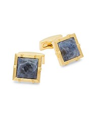 Ike By Ike Behar Square Cuff Links Blue