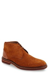 Ted Baker Men's London Azzlan Chukka Boot Tan Suede