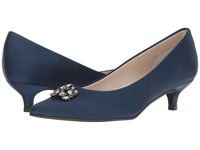 Caparros Oligarch Navy New Satin Shoes Blue