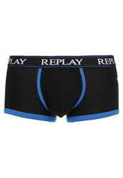 Replay Shorts Schwarz Grau Black