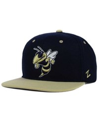 Zephyr Georgia Tech Yellow Jackets Z11 Snapback Cap Black Old Gold