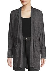Marc New York Open Front Cardigan Grey