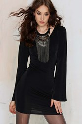 Nasty Gal Glamorous Samira Bell Sleeve Dress