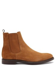 Paul Smith Jake Suede Chelsea Boots Tan