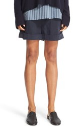 Vince Women's Slouchy Roll Cuff Shorts