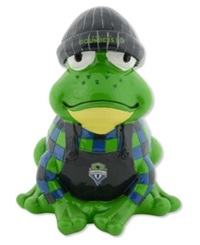 Forever Collectibles Seattle Sounders Fc Thematic Frog Figure Lime