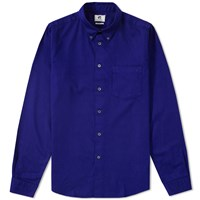 Paul Smith Tailored Fit Twill Shirt Blue