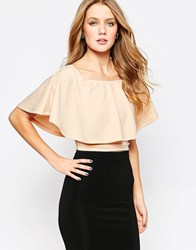 Ax Paris Off Shoulder Top Nude