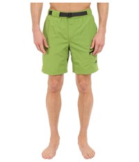 The North Face Belted Guide Trunks Vibrant Green Prior Season Shorts