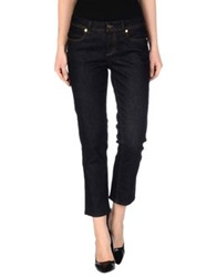Tory Burch Denim Pants Blue