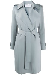 Harris Wharf London Belted Soft Trenchcoat 60