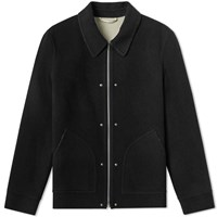 Helmut Lang Logo Wool Jacket Black