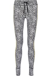 The Upside Ditsy Printed Stretch Leggings Black