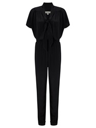 Alice By Temperley Somerset By Alice Temperley Tie Neck Jumpsuit Black
