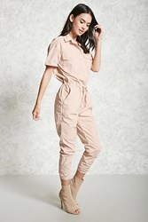 Forever 21 Buttoned Coverall Jumpsuit