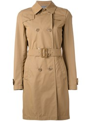 Herno Classic Trenchcoat Brown