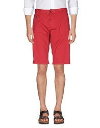 Yes Zee By Essenza Bermudas Red