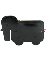 Thom Browne 'Elephant' Clutch Black