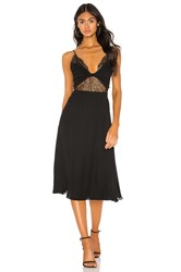 Cami Nyc The Sofia Georgette Dress Black