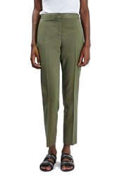 Women's Topshop Crop Fitted Trousers