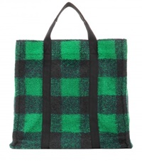 Isabel Marant Etoile Rusty Wool Blend Tote Green