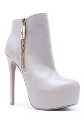 Qupid Ravish High Heel Bootie Beige