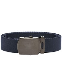 Junya Watanabe Man Canvas Belt Blue