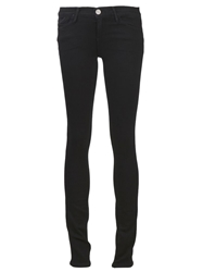 Gold Sign Goldsign 'Misfit' Slim Straight Jeans Black