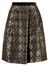 Weekend Maxmara Miss Aline Skirt Verde Khaki Brown
